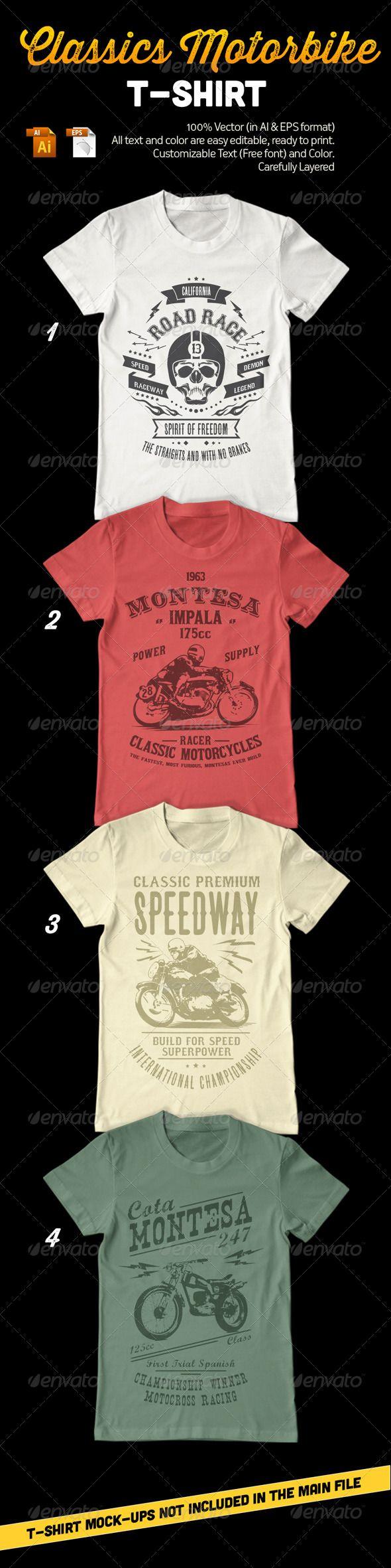 Classic Motorbike T-Shirt
