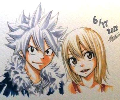 Haru and Elie,Rave Master by Hiro Mashima