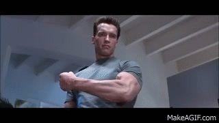 Terminator 2 - Arm cutting scene (HD) on Make a GIF
