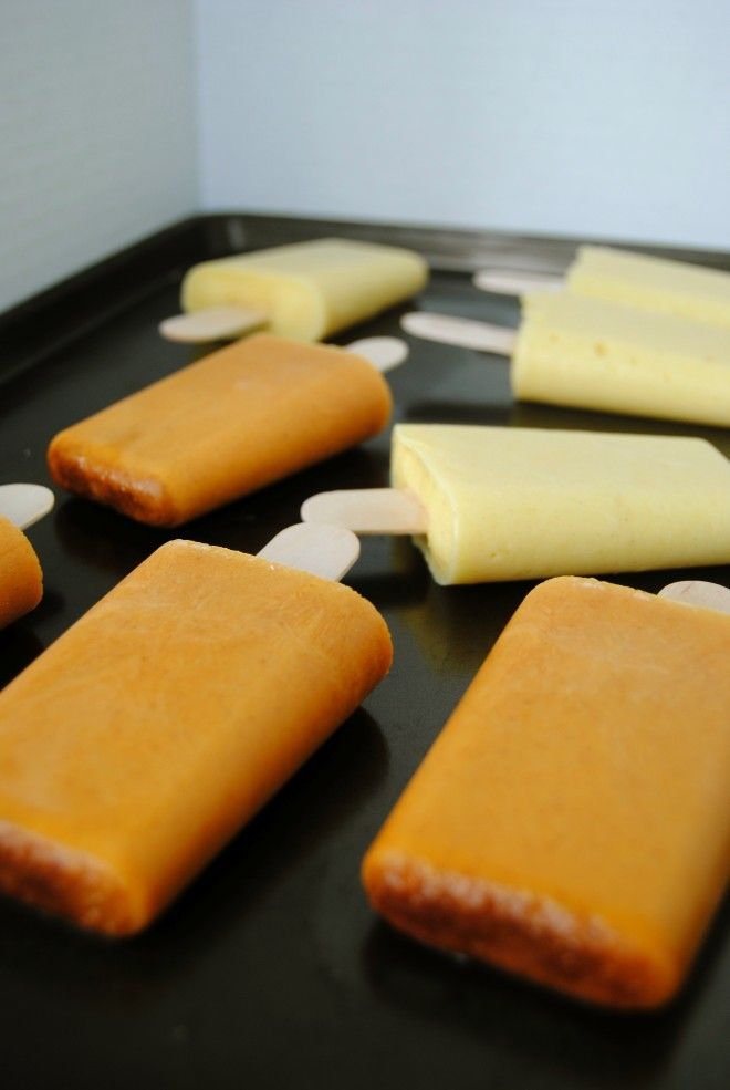 Homemade Popsicles From A Rich And Sweet Mango Lassi Recipes ...