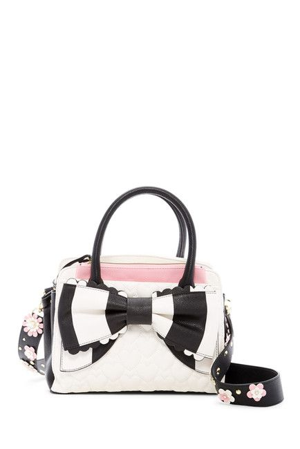 Image of Betsey Johnson Guitar Strap Satchel