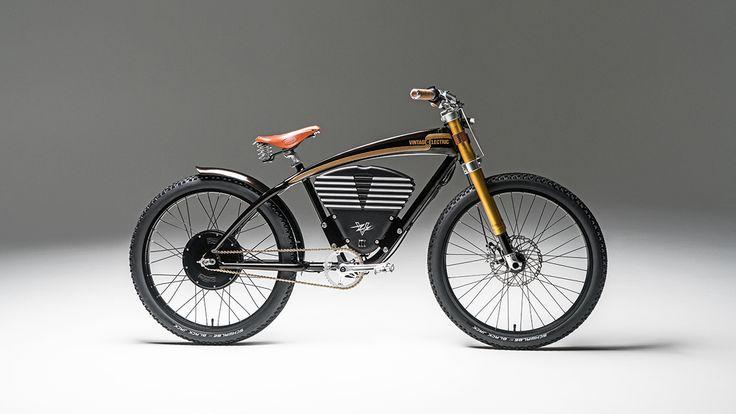 Ein retro-gestyltes E-Bike aus Kalifornien mit 65 km/h: Der Vintage Electric Scrambler ist auch fernab der Straße ein Monster!