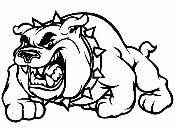Bull Dog Coloring Page New Scary Bulldog Coloring Pages Dog Coloring Page Cartoon Coloring Pages Puppy Coloring Pages