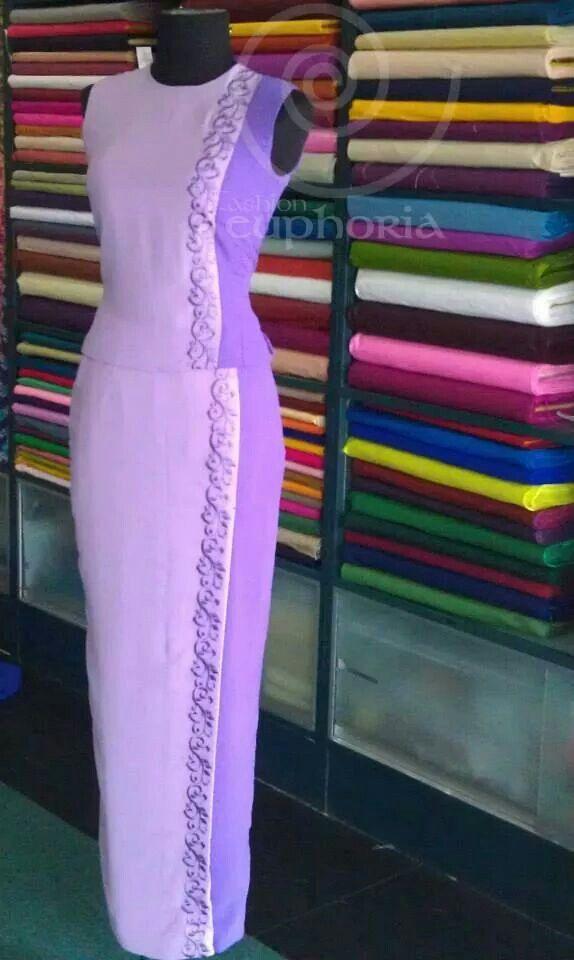 Myanmar dress.. euphoria fashion.. Gorgeous colour combination