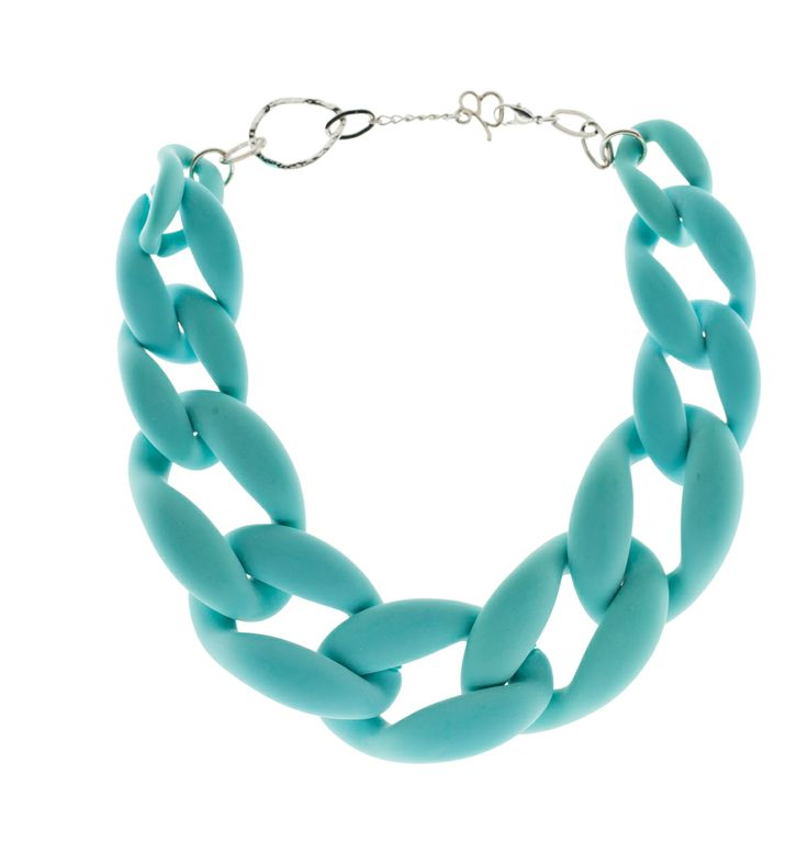 Jewels that Rock - Diana Broussard  Nate Necklace in Turquoise custom colour to Jewels That Rock Designer Jewellery