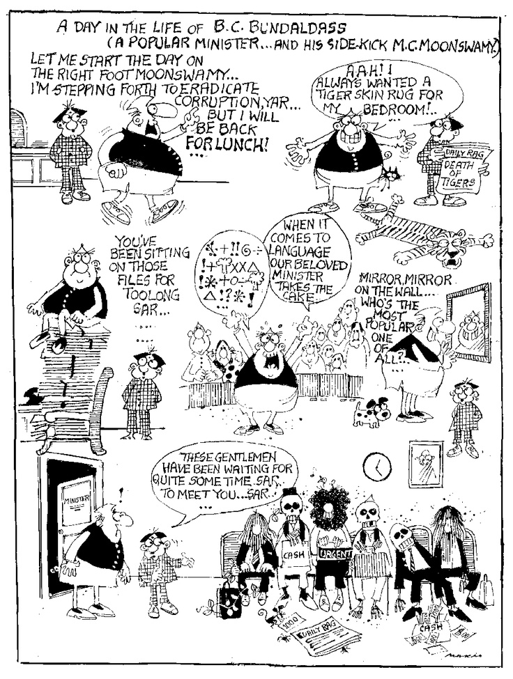Mario Miranda - Cartoonist