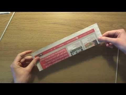 Skręcanie rurki z papierowej wikliny [twisting the tube, paper wicker] (Claoodia Art) - YouTube
