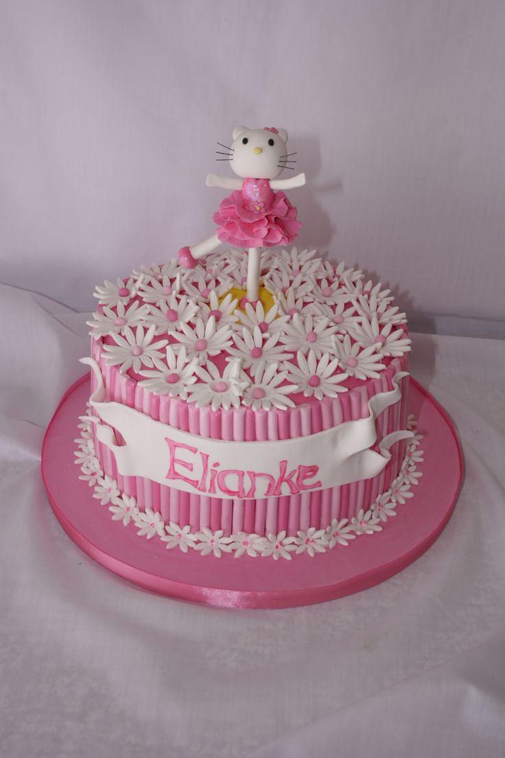 Hello Kitty Cake - ww.suikerbekkie.co.za