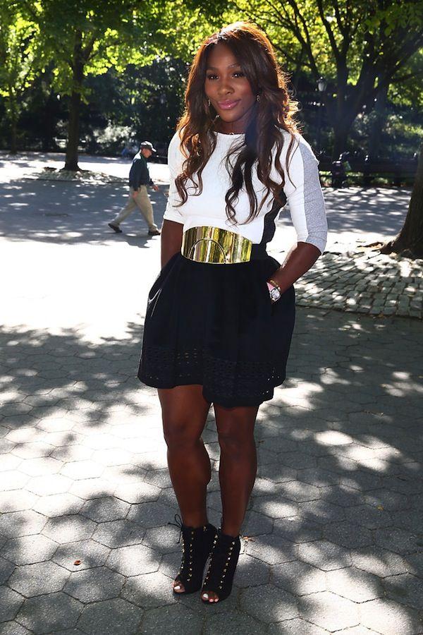 Serena Williams's Central Park New York City Trophy Tour