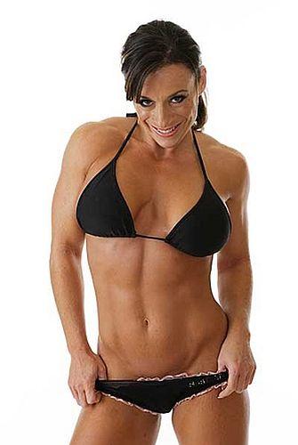 Muscular women jessika flexing part2 video2 - 3 part 2