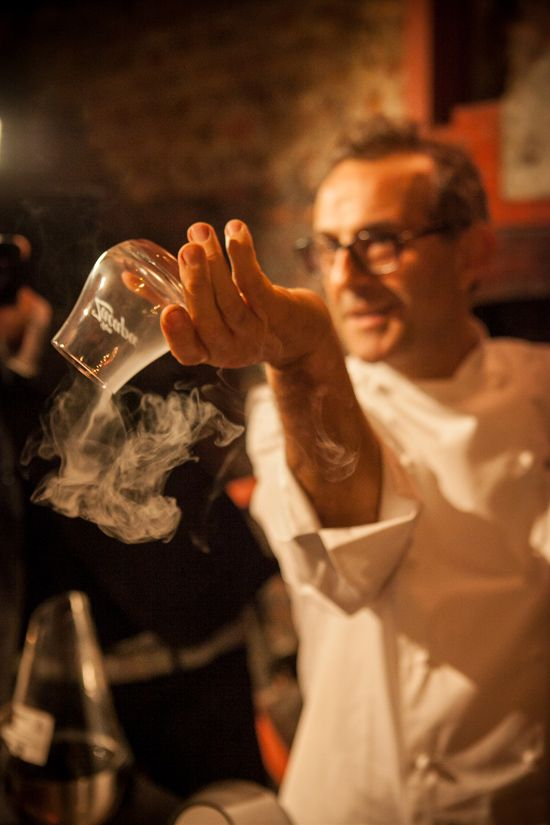 Massimo Bottura e le sue nuvole di Zacapa
