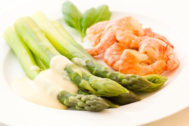 Skagen gourmetrejer på asparges