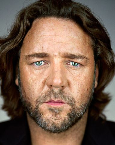 Russell Crowe by Martin Schoeller