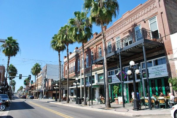 Ybor City - Known as Tampa's Latin Quarter for over a century, Ybor City is an exotic blend of aromas, flavors, sights and sounds.  From the scent of roasting Cuban coffee early in the morning to the rhythms of Latin music late into the night, Ybor is a feast for the senses.