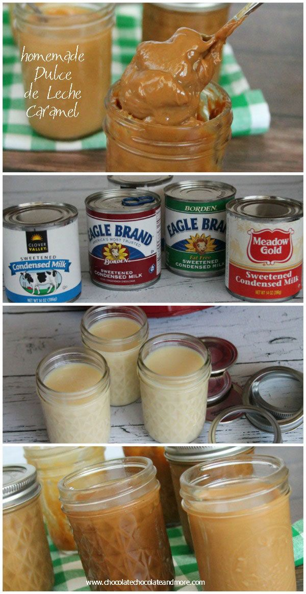 Crock Pot Dulce de Leche-make your own dulce de leche in the crockpot.