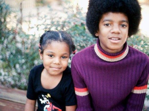 Michael Jackson ( with sister Janet Jackson)  1969
