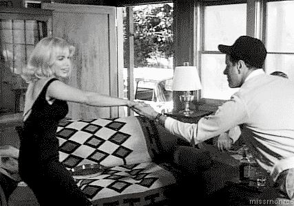 film dancing vintage marilyn monroe old hollywood eli wallach 1961 the misfits #gif from #giphy