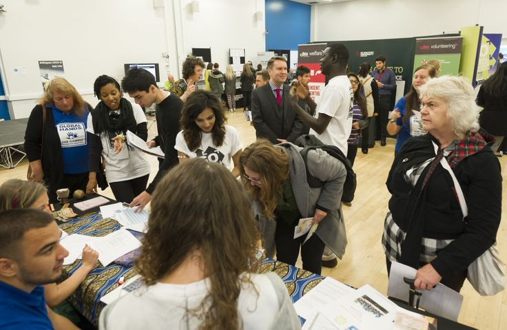 Students gather to find out more about the exciting new initiative