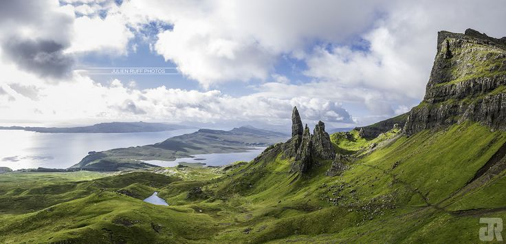 Old Man of Storr panorama | by Julien Ruff Photos | #OldManOfStorr #Storr #Skye #Isle #Island #Île #Highlands #Scotland #Ecosse #UK #Nikon #D7100 #JulienRuffPhotos
