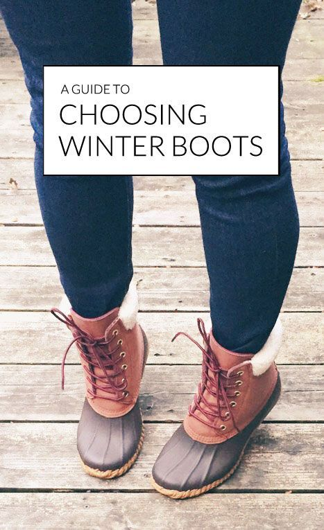 find the perfect winter boots