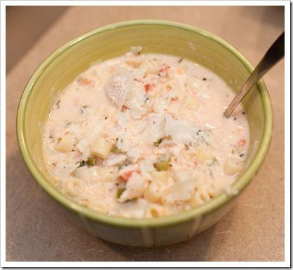 Italian Chicken Soup | Recipes | Pinterest