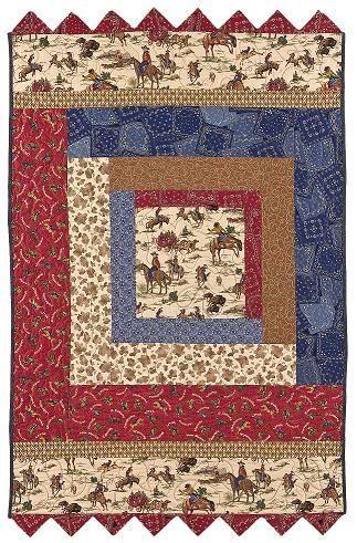 Cowboy Quilt Patterns | quilt pattern | QuiltersBuzz