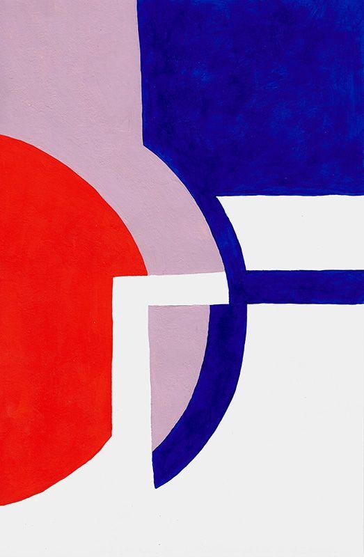 Kunstgalerie KUNSTFLIEGEREI Grafikdesign Gemälde, einfache Formen