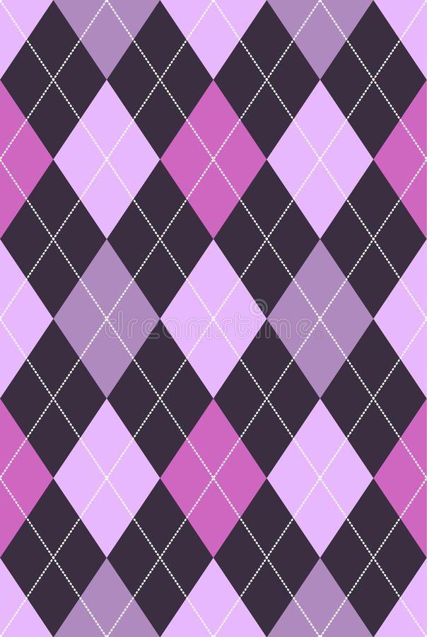 Rauten Muster Rosa U Lila Vektorgrafik Abbildung Der Zeichnung Argyle Muster 15651018 In 2020 Plaid Wallpaper Cute Patterns Wallpaper Iphone Background Wallpaper