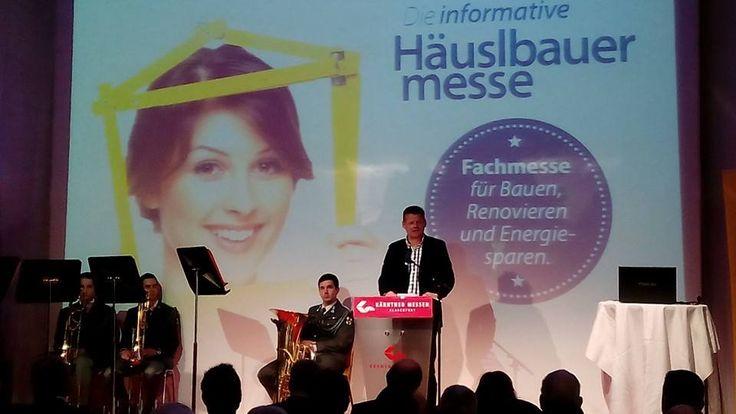 Die #Häuslbauermesse,die von 20. Bis 22. Feber in #Klagenfurt stattfindet, ist eröffnet