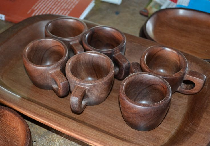 Beautiful wooden cups made by Piaroa Artisans. #Mambe Shop www.mambe.org