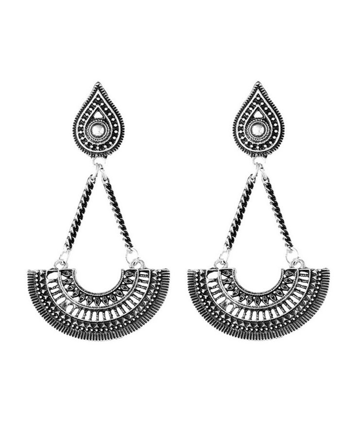 Fashion Jewelry : Tribal Tibet Earrings