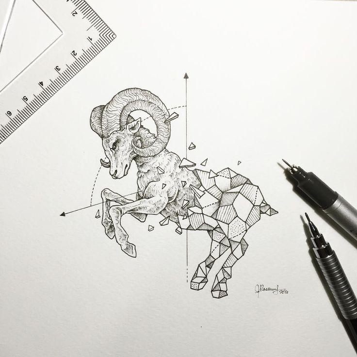 Geometric beasts ram More
