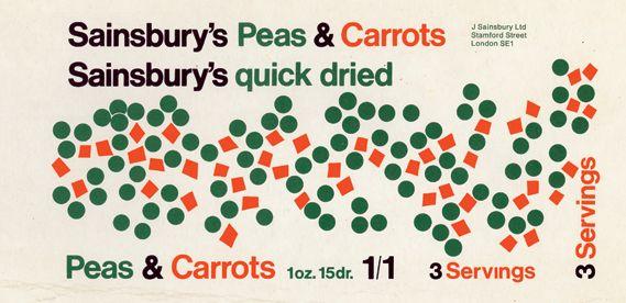 Sainsbury's Vintage Packaging