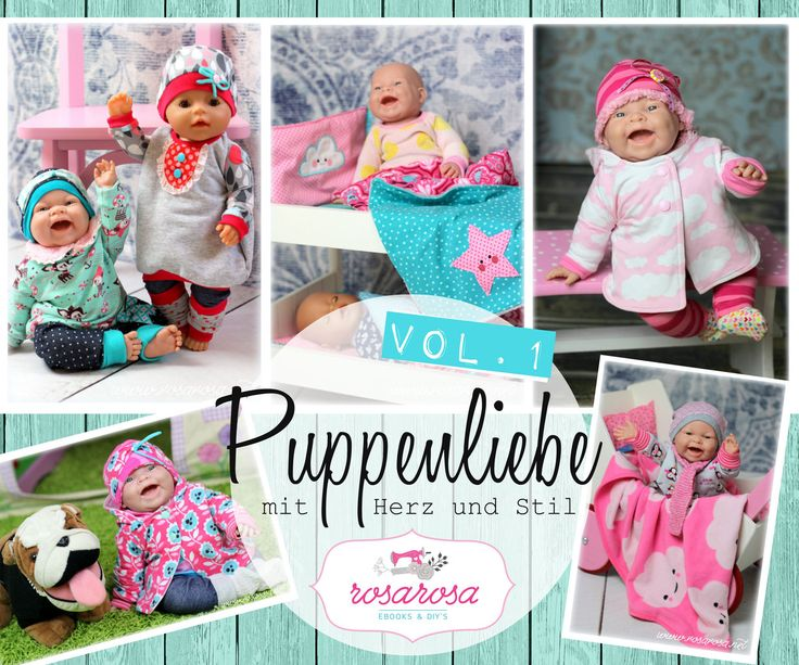 Kombiebook Puppenliebe Vol.1 + Vol. 2 Spring Collection