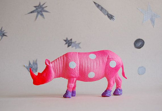 paint plastic animals
