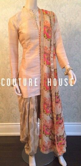 Simple & gorgeous suit by Punjab Couture House