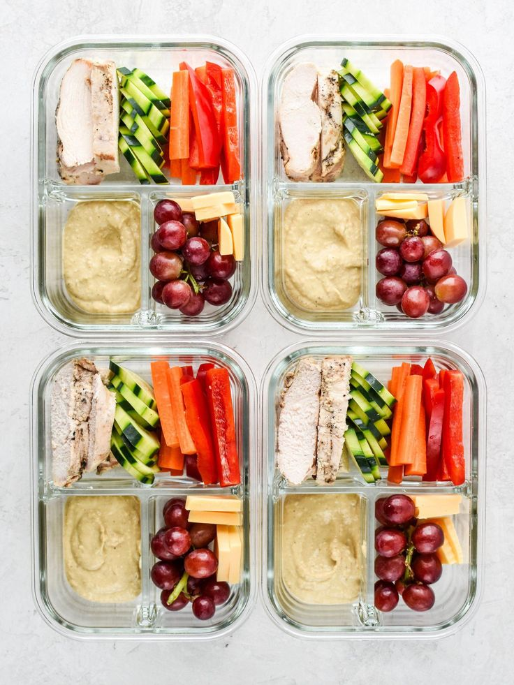 Este Chicken & Hummus Plate Lunch Meal Prep é tão simples e incrivelmente delicado …   – Food & Drink