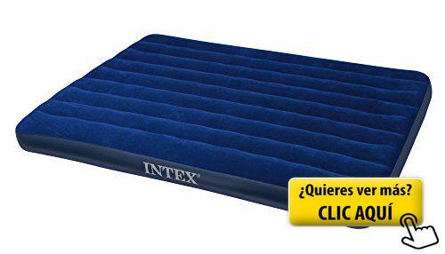 Intex - Colchón hinchable, 152 x 203 x 22 cm... #cama