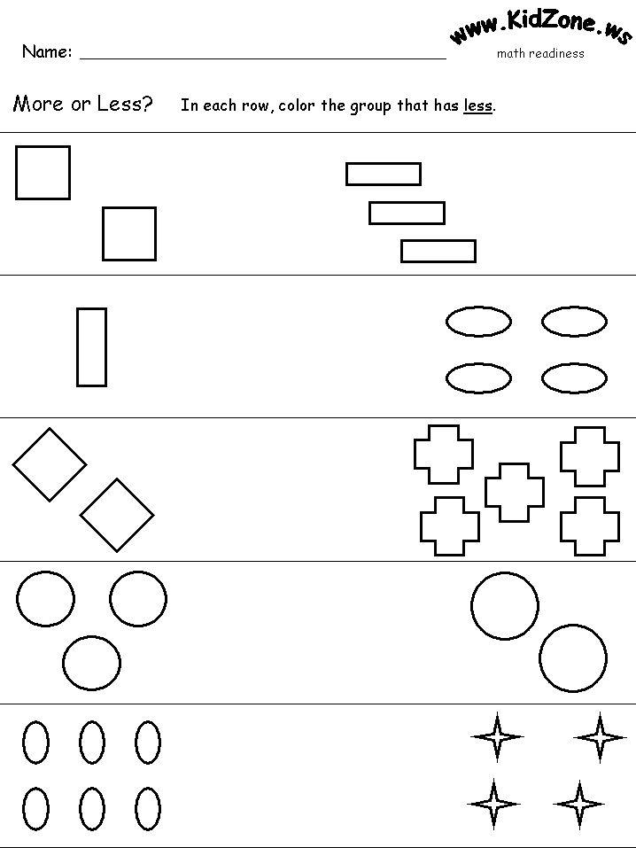 math worksheet : 1000 images about benchmarks on pinterest  worksheets pigeon  : More And Less Worksheets Kindergarten