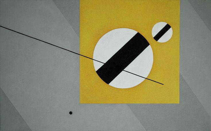 Rita Rodner 2009, acrylic on canvas.  Abstract, geometric composition. Rita Rodner