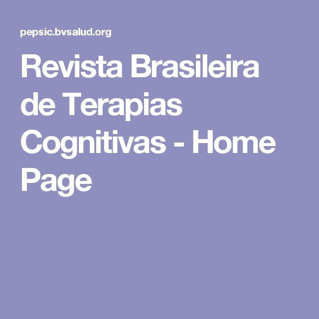 21 best educao corporativa images on pinterest human resources revista brasileira de terapias cognitivas home page fandeluxe Image collections