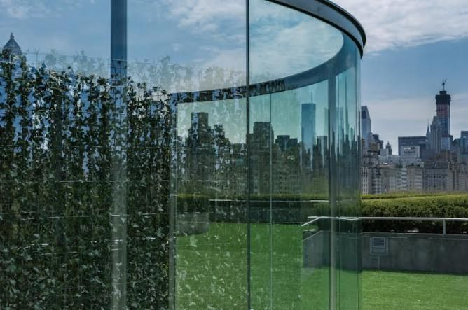 The Roof Garden Commission Dan Graham with Günther Vogt at Metropolitan Museum of Art