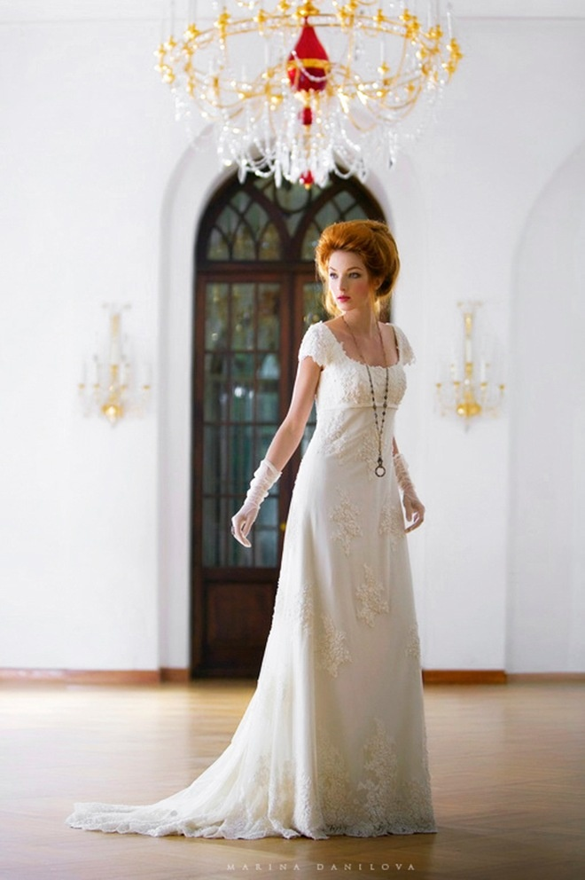 Edwardian dress; I'd love to have a wedding dress like this <3