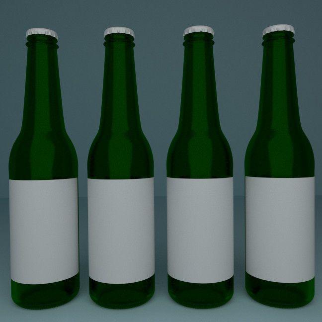 3ds beer bottle