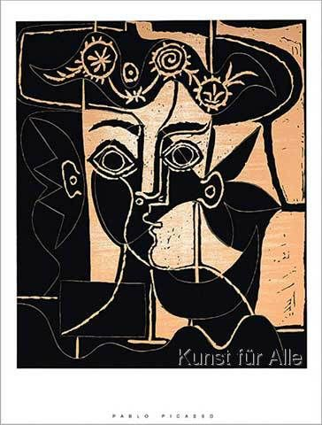 Pablo Picasso - Femme au Chapeau                                                                                                                                                     Mehr