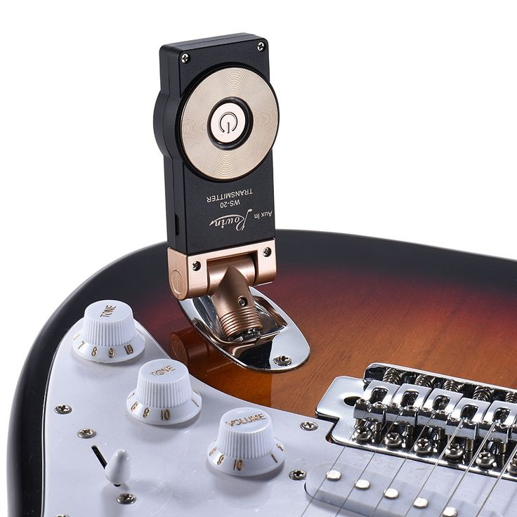 Only US$67.51, Rowin WS-20 2.4G Wireless Rechargeable Electric Guitar - Tomtop.com