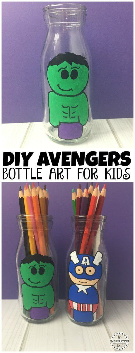 The Incredible Hulk Craft For Kids · The Inspiration Edit