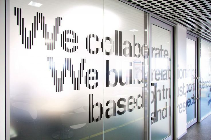 Frosted Glass conference room wall design | Conference_Room_Window_Graphics