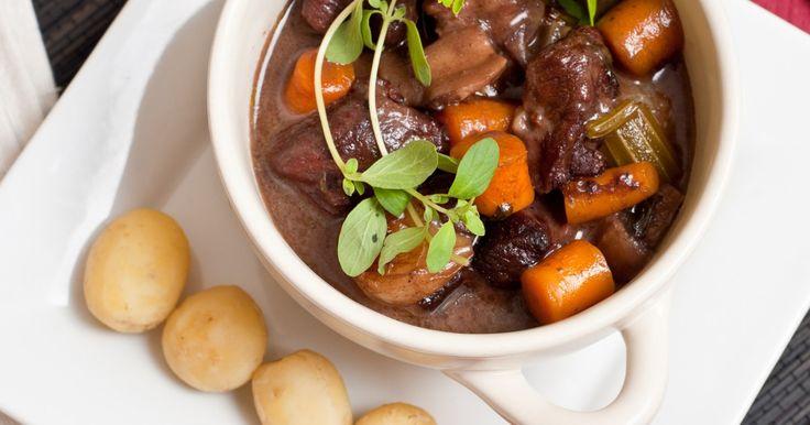 Pommes de terre, carottes, oignons et champignons ! MIAM