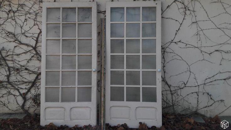 17 meilleures id es propos de double porte coulissante sur pinterest doubles portes deco wc - Installer porte coulissante sur ancienne porte ...